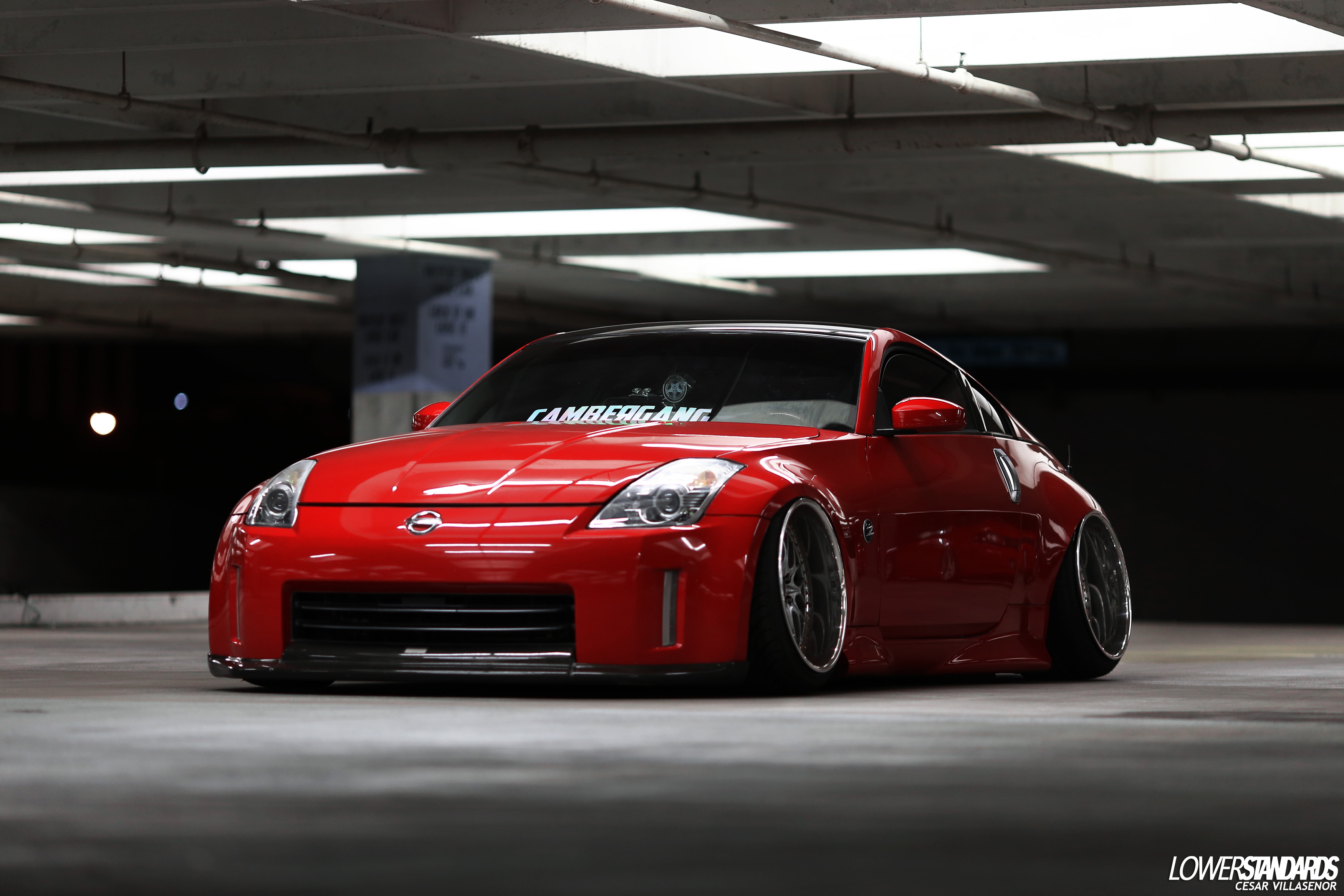 Edgar S Bagged 2006 350z Lower Standardslower Standards