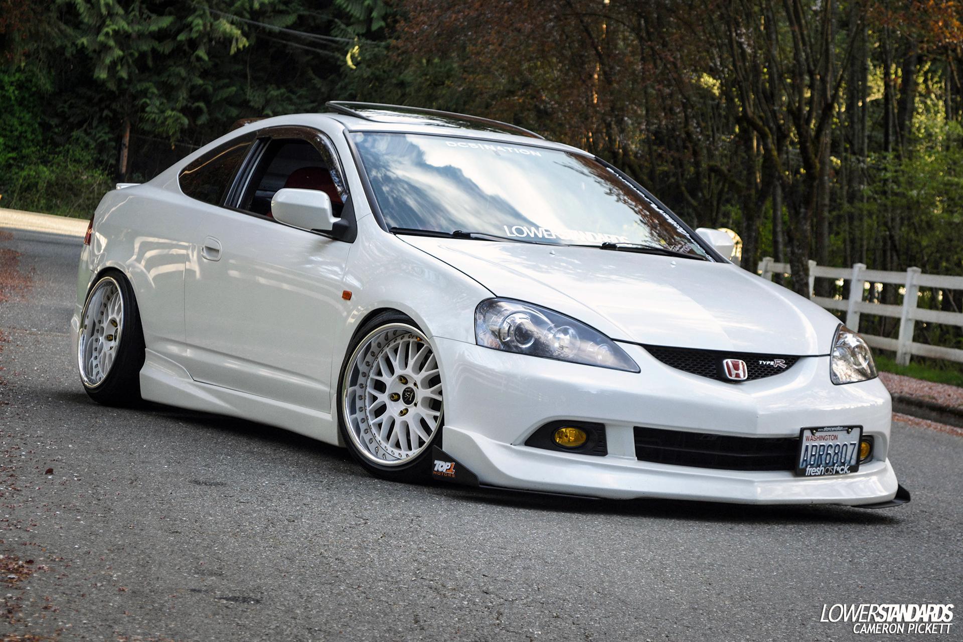 White Acura Rsx Jdm Acura Rsx Type S Jdm W...