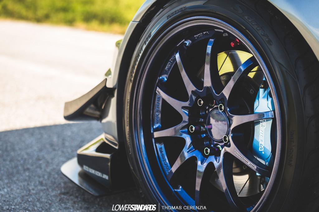Front Wheel Shot