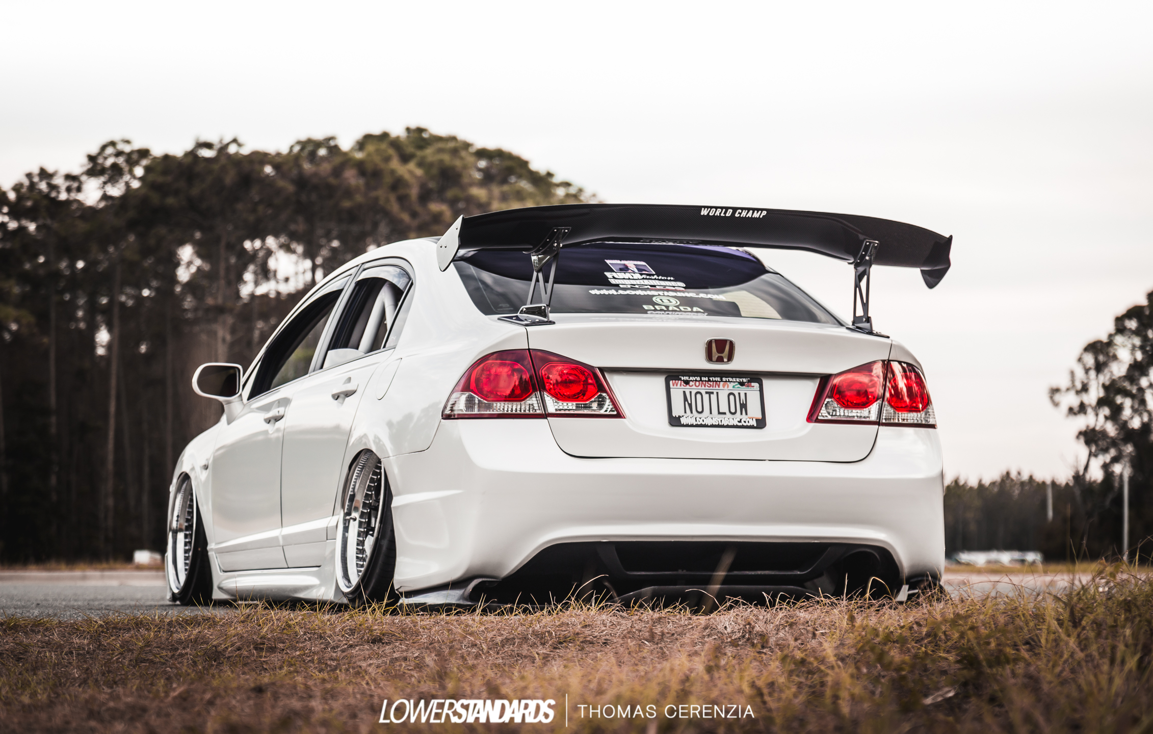 Royce Fortier's FD2/CSX Converted Civic Si - Lower ...